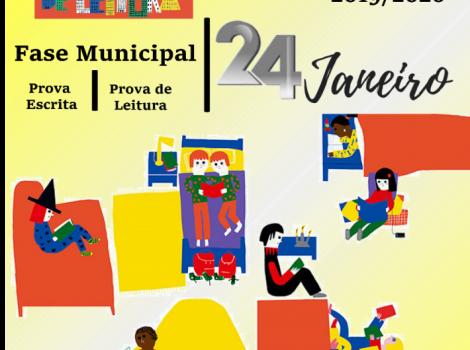 É já no dia 24 de janeiro  Fase Municipal do Concurso Nacional de Leitura uma grandiosa festa dos livros e da leitura