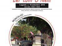 Esplanadas de Leitura Ler com O' Neill disponibilizam livros e periódicos em Montalvo 2018
