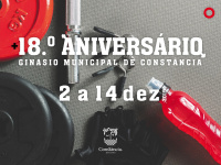 18º aniversário do Ginásio Municipal