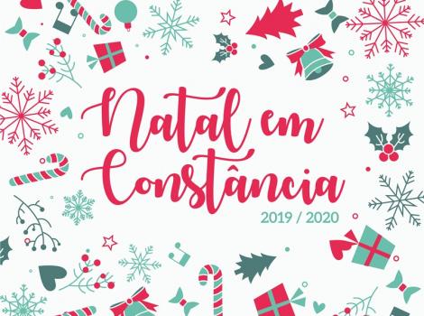 Natal em Constância Celebrar e época, dando mais vida ao Centro Histórico da vila!