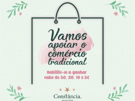 Vamos apoiar o Comércio Tradicional faça as suas compras nos 24 estabelecimentos aderentes