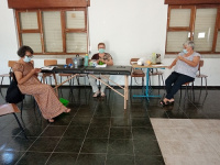Sorrisos entre Letras projeto de solidariedade reiniciou atividade